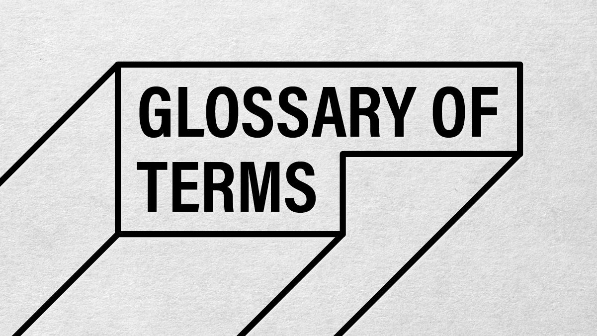 Robot Mascot Glossary of Terms