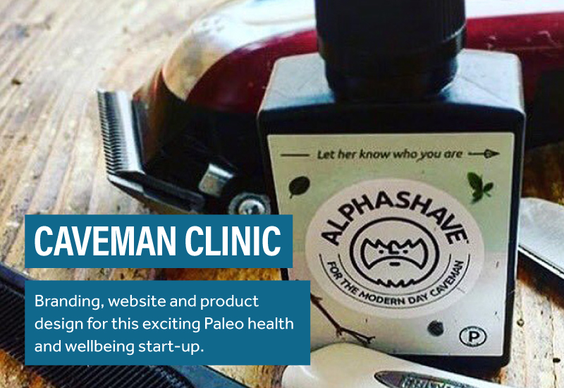 Caveman Clinic Branding and Website Design