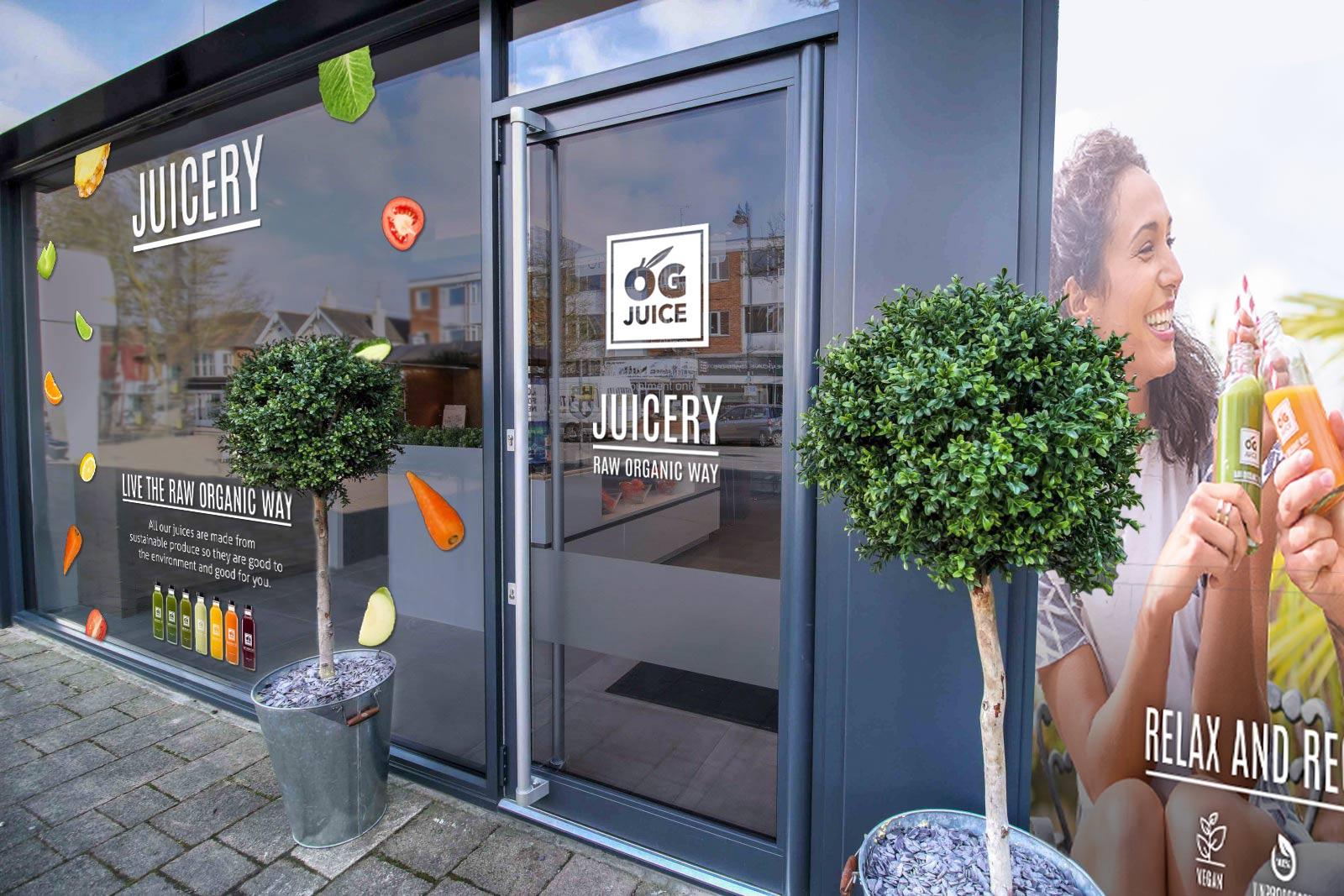 OG Juice shop front