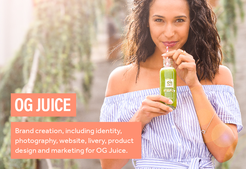 OG Juice - Branding and Website