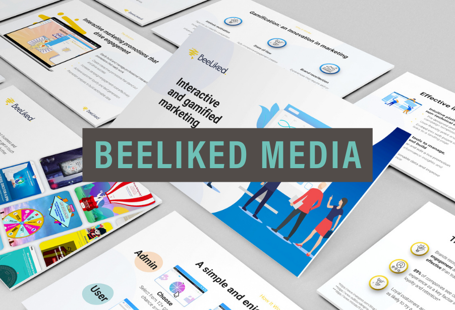 Robot Mascot | BeeLiked Media | Portfolio